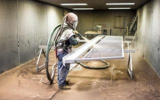 Какая технология пескоструйной обработки металла?