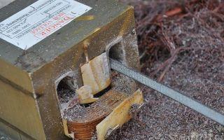 Как сделать точечную сварку из микроволновки?