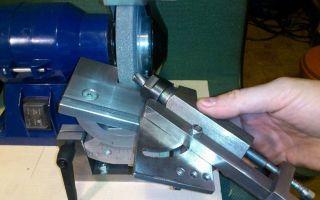 Как сделать станок для заточки сверл?