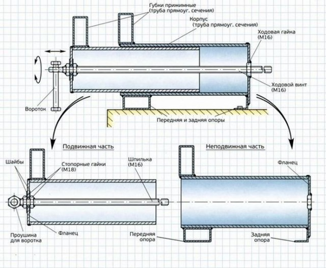 Столярные тиски для верстака своими руками: чертежи, фото, видео