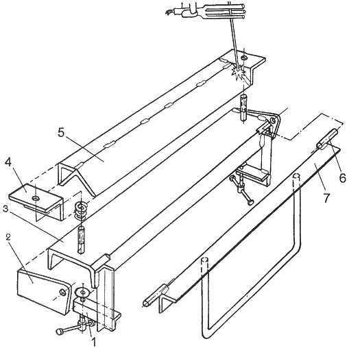 Листогибочный станок или листогиб своими руками – видео, чертежи