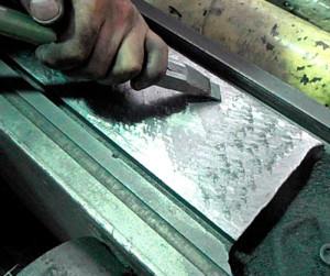 Шабрение металла: технология, виды, инструменты