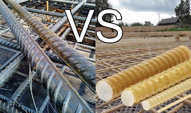 Какая арматура лучше - металлическая или стеклопластиковая: сравнение, плюсы и минусы