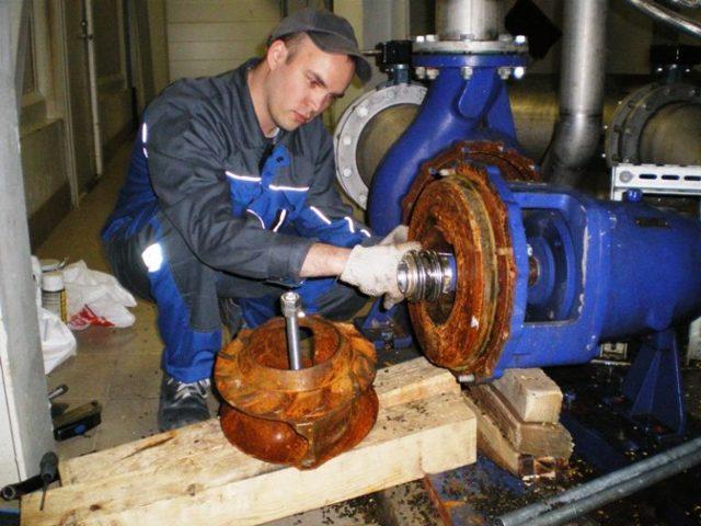 Центробежные насосы, их ремонт и техническое обслуживание