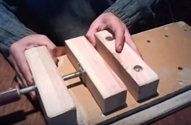 Тиски своими руками: видео, фото, чертежи самодельных тисков